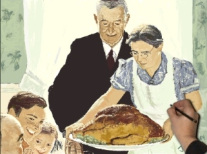 Norman Rockwell, Thanksgiving, Margaret Smith UXL