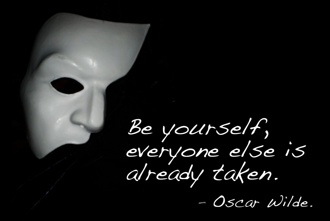 50ae9174fb ... 2015 The Authentic Leader. be yourself oscar wilde