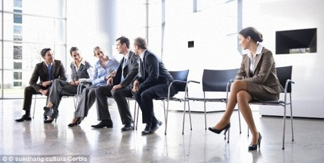 Feeling ostracized at work can have hugely detrimental consequences. Image source: Purdue.edu