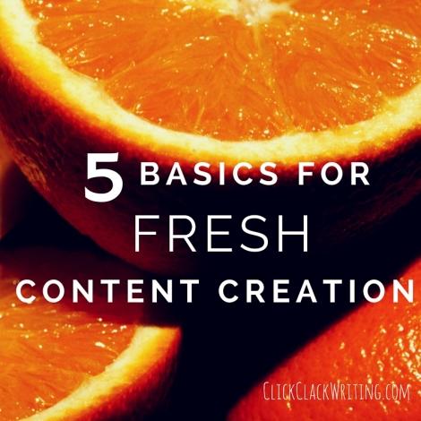 5 Basics for