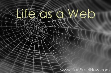 life as a web