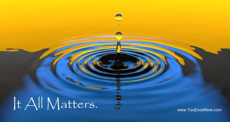water ripples-It All Matters