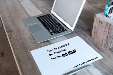 preparation for job hunt