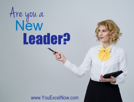 are you a new leader