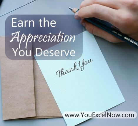 Earning thanks