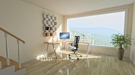 clean corner desk