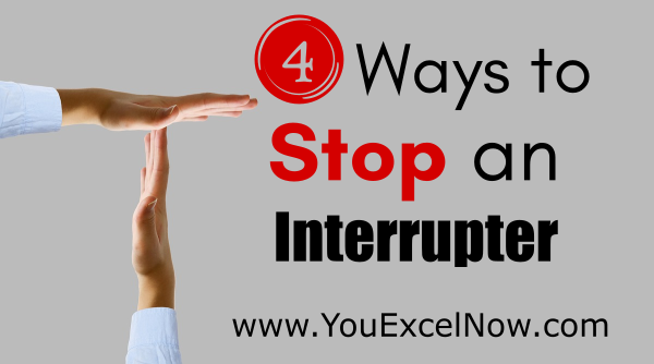4 Ways to Stop an Interrupter